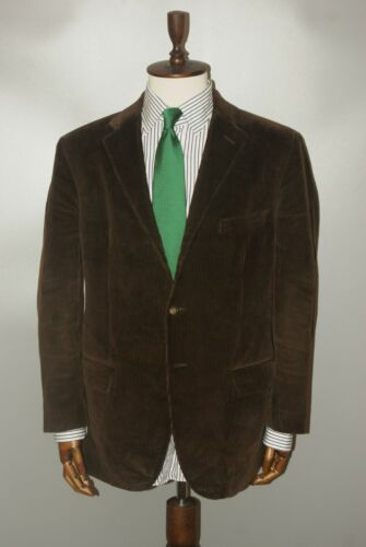 Men's Polo Ralph Lauren Brown Cotton Corduroy Velv
