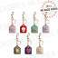 miniature 1 - BT21 Baby Leather Metal Keyring Keychain 7types Official K-POP Authentic Goods