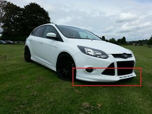 Details About Ford Focus 3 Mk3 Body Kit Zetec S Look Front And Rear Bumper Spoilers Side Skirt