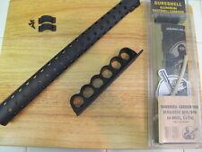 Mesa Tactical SureShell Sidesaddle + Heat Shield Mossberg 500 590  Shell Holder