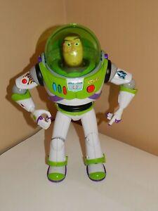 "Toy Story Buzz Lightyear 12"" Talking Action Figure Disney Pixar Thinkway - READ"