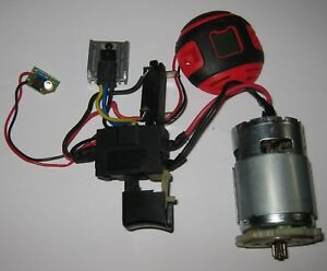 18-V-DC-Electric-Motor-with-Speed-Control-LED-FET-755-Frame-16000-RPM