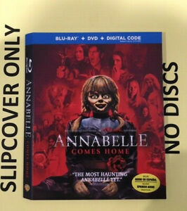 Annabelle Comes Home 2019 Blu Ray Slipcover Only No Discs Ebay