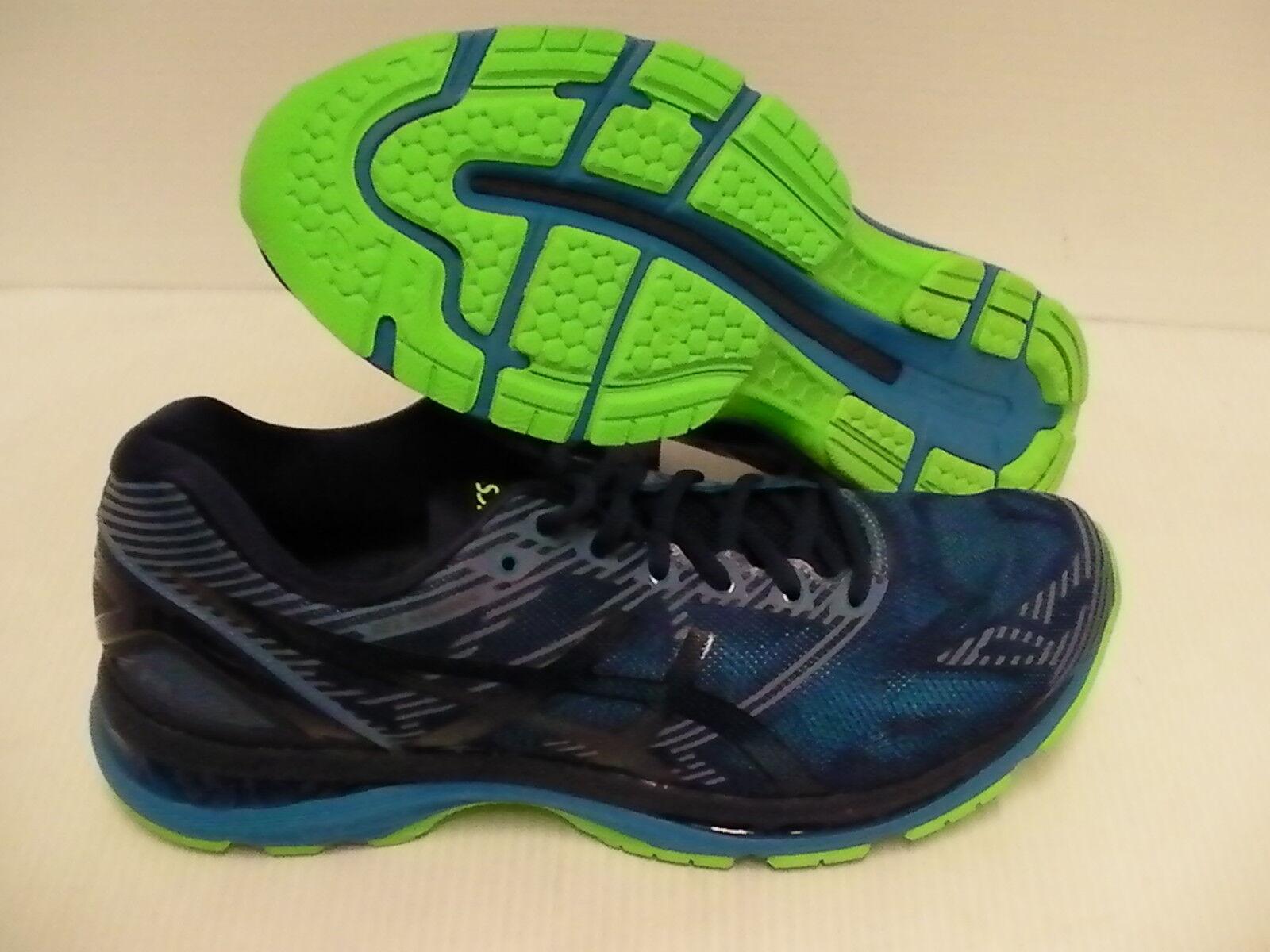 Zapatos de correr Mens Asics Gel Nimbus 19 Lite Show Azul Índigo novela