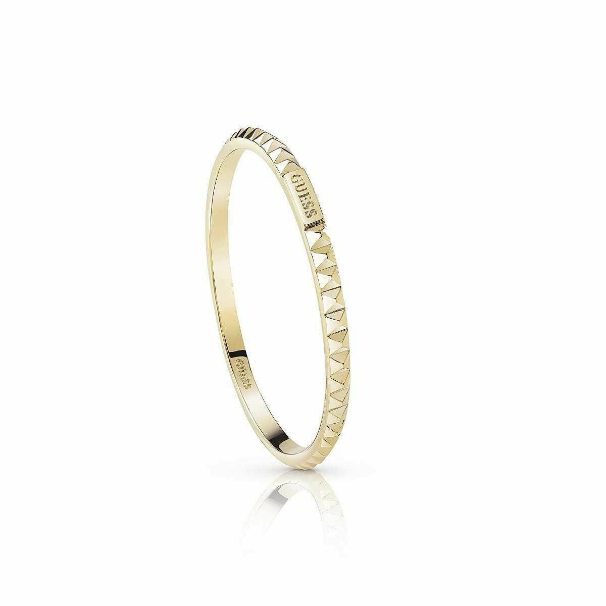 Bracciale women Gioielli Guess Hoops I Did It Again Bigiotteria Pvd gold