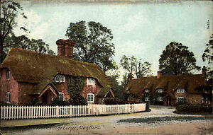 Canford-England-Dorset-1910-Cottage-Corner-Landhaus-Haeuser-Houses-Wrench-Series