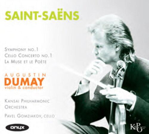 Camille Saint-Saens : Saint-Saëns: Symphony No. 1/Cello Concerto No. 1/... CD
