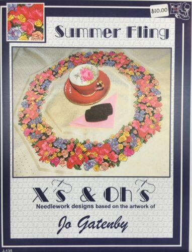Zweigart's Oktav Table Topper 11 ct Cross Stitch Gold//Cream White or Lemon Drop