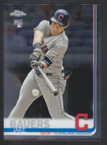 Topps-Chrome-2019-71-Jake-Bauers-Cleveland-Indians-RC