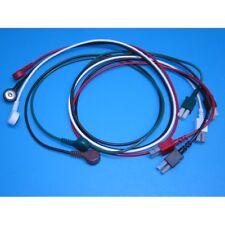Hp Agilent Philips 5 Lead Snap Ekg Ecg Lead Wire Set Made In Usa 1 Year Warranty