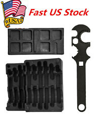Lower & Upper Vise Block & Wrench Tool Kit For AR15 Gunsmith Armorer's US Stock