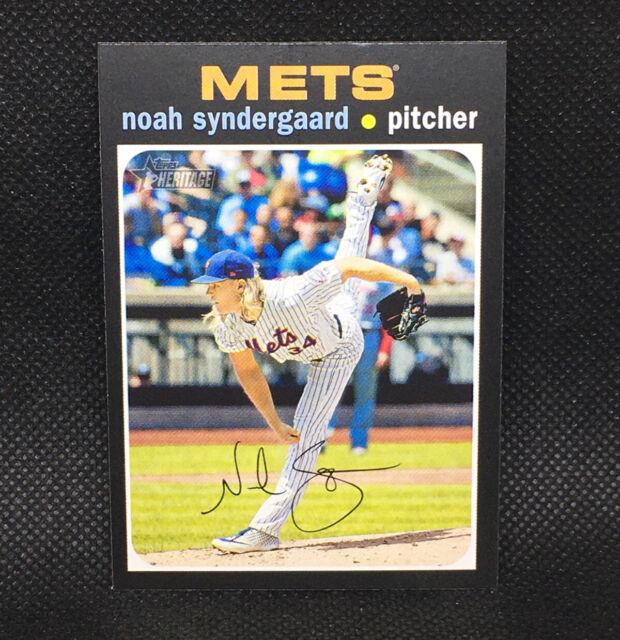 SP! 🚨Noah Syndegaard 2020 Topps Heritage High Number #428 Mets