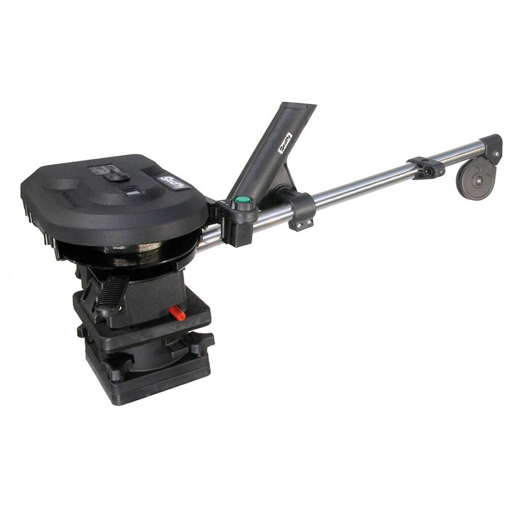 Scotty 1101 Depthpower 30   Electric Downrigger w Rod Holder  and  Swivel Base