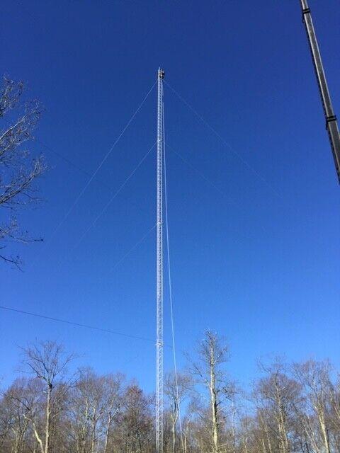 ham radio antenna tower rohn 45G 200Feet. Buy it now for 3000.00