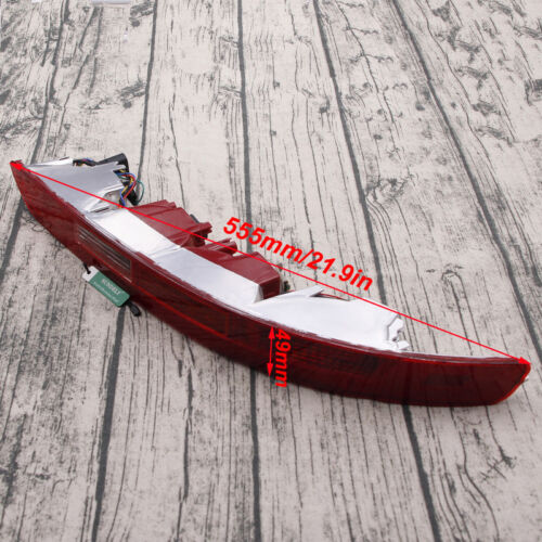 Right Side Car Lower Reflector Rear Tail Bumper Light Lamp Red For Audi Q5 09-17