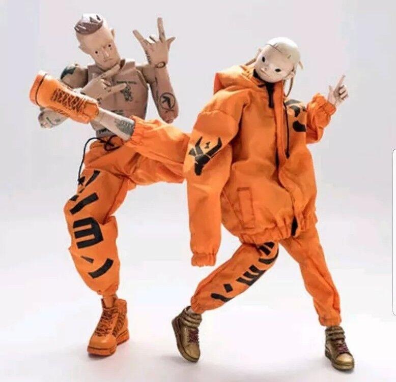 New Ninja Da Rescue & Yolandi Da Rescue 1 6 Scale figure set- Die Antwoord Zef