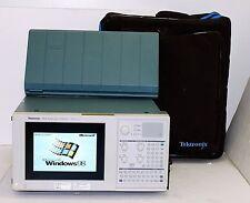 Tektronix Tla714 Logic Analyzer Color Portable Mainframe With Tla7n3 102 Ch Case