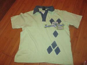 boys-boy-t-shirt-tshirt-top-aged-4-years-next-green-polo-shirt-short-sleeved