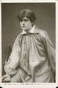 Miss Gertrude Elliott [Actress] (Rotary Photographic, no.237M) 1910s