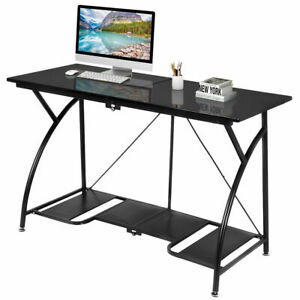 Image Is Loading Modern Folding Computer Desk Home Office Study PC