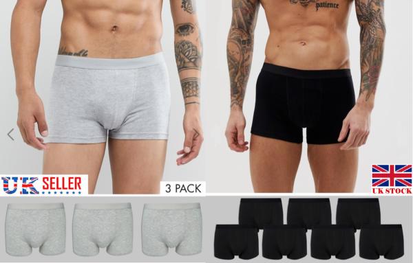 * 8 10 Paia Morbido Girovita Boxer Trunks Pantaloncini Uomo Biancheria Intima Ultimate Boxer-x -