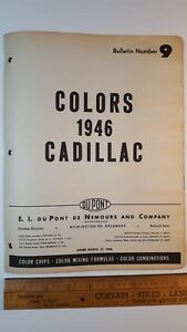 1946-CADILLAC-Original-Exterior-Color-Paint-Chips-Very-Good-Condition-US