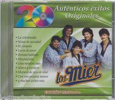 SEALED - Los Mier CD 20 Autenticos Exitos Originales BRAND NEW