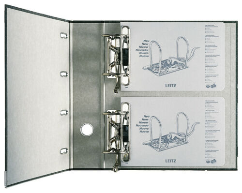 LEITZ® Doppelordner Wolkenmarmorpapier mit Griffloch... RC SK-Rückenschild
