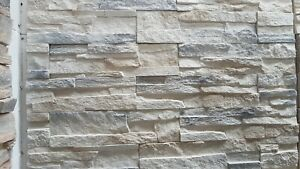 Details about Nepal Frost Stone Panels Split Face Slate Stone Cladding  Decorative Stone