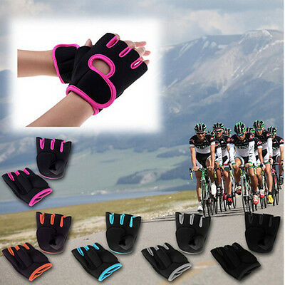 Women Men Weight Lifting Gloves Fitness Glove Gym Exercise Training Choose Size