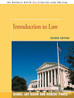 Introduction to Law: Second Edition by Daniel J Baum (Paperback / softback, 2007)