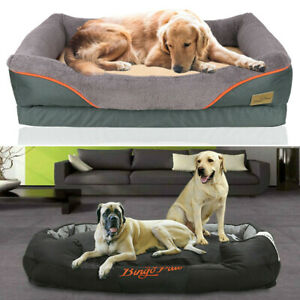 Jumbo Plus Dog Beds Orthopedic Extra Large Thicken Form Waterproof Pet Bed Cover Ebay