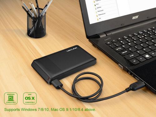"HDD Enclosure 2.5/"" Inch Sata USB 3.0 Hard Drive HDD Case External Laptop"