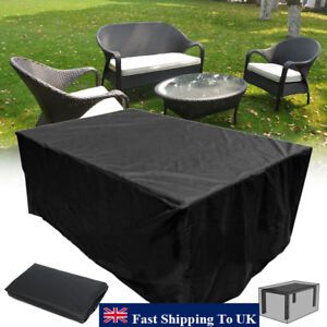 heavy duty furniture cover waterproof garden patio table outdoor rh ebay co uk