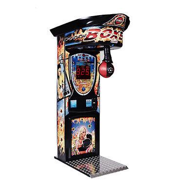 Kalkomat Boxer Boxing Machine Arcade Game - Fire Graphics   eBay