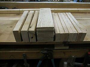 3 Red Oak Wood Lumber Boards Measuring 1//8 x 6 x 30