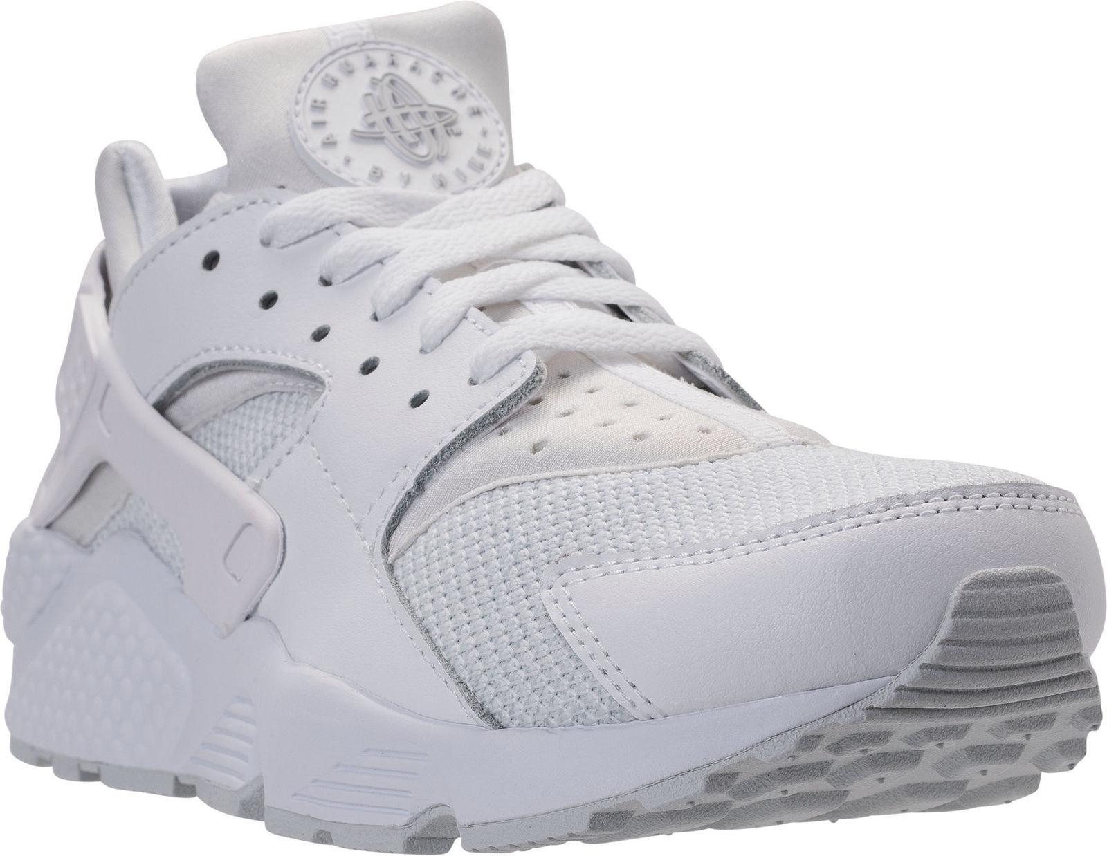 Nike Air Huarache Run Running Shoes White Camo  SZ 10  [318429 109]