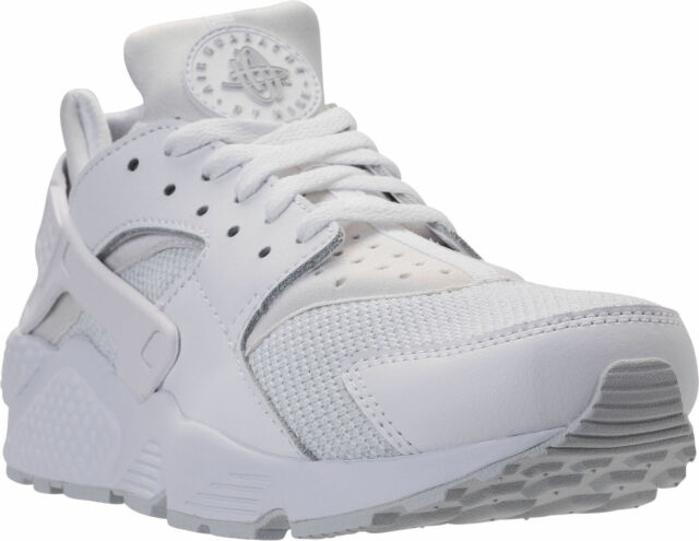 wholesale dealer 592c7 bb218 Nike Air Huarache Running Mens Shoes White Platinum 318429-109 10