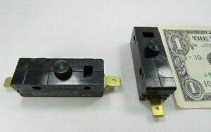 Lot-2-Cherry-E13-15A-Normally-Open-Pushbutton-Switches-125-250-VAC-0E1349EC-NO