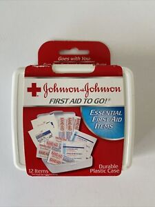 Johnson & Johnson Red Cross First Aid-to-Go Mini First Aid Kit