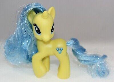 "My Little Pony G4 Lemony Gem Single 3/"" brushable 2012 Coleção Favorita"