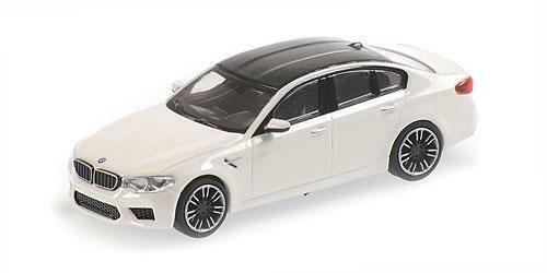 Minichamps 1//87 HO BMW M5 2018 WHITE 870028000
