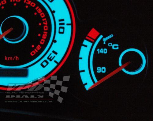 Peugeot 206 GTI Speedo clock dash cluster interior custom bulb lighting dial kit