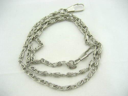 10pc 60cm silver Purse chain Handbag Shoulder Strap Chain bag handle replacement