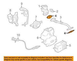 jaguar oem 04 06 xkr egr valve gasket aj82340 ebay rh ebay com 1998 Jaguar XJ8 Engine Belt Diagram Jaguar 4 2 Supercharged Engine Diagram