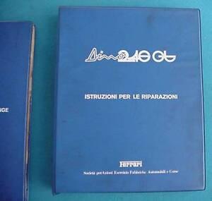 Ferrari-Dino-246-GT-Original-Repair-Shop-Manual-Used