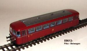 Piko Ho 59613 Schienenbus-bei/fourgon 998 De Db Version Courant Alterné # Neuin