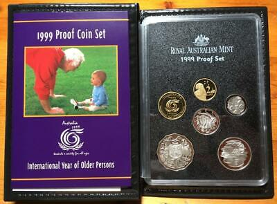 1999 RAM Proof Set of 6 Coins International Year of Older Persons