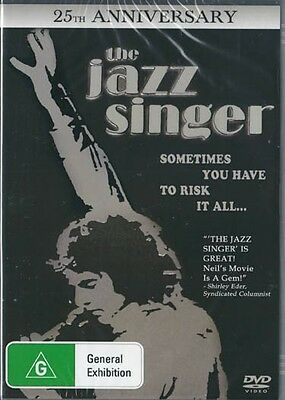 THE JAZZ SINGER - 25TH ANNIVERSARY EDITION - NEW DVD FREE LOCAL POST