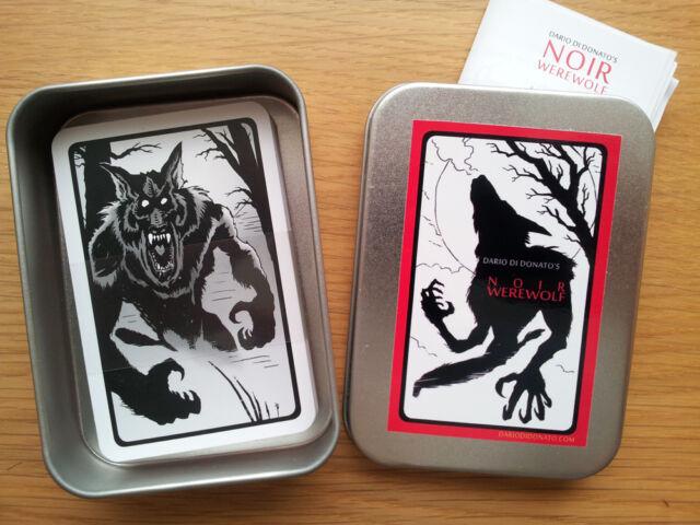Noir Werewolf (2nd Ed) - Partyspiel , Gesellschaftsspiel, Kartenspiel 7+ Spieler